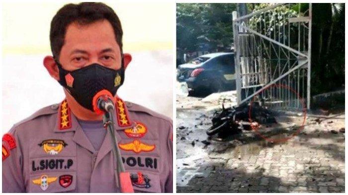 Kapolri Jenderal Listyo Sigit, Akan Turun Langsung Tinjau Bom Bunuh Diri di Gereja Katedral Makassar