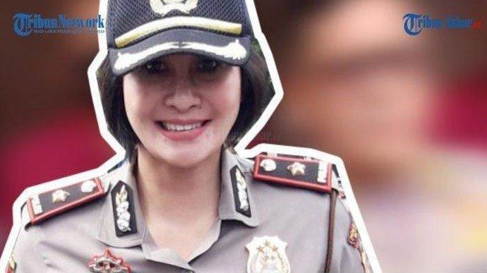 Kapolsek Cantik Kompol Yuni Purwanti Kusuma Dewi, kini Mantan Kapolsek Astana.