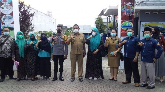 LPM dan Camat Se-Kota Gorontalo Kunjungi Posko Lingkungan Manado Tangguh