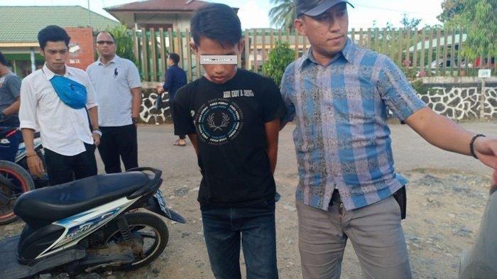 Perbuatan Tidak Senonoh Itu Terjadi Dalam Gubuk, Polisi Sita Celana Perempuan Berwarna Loreng