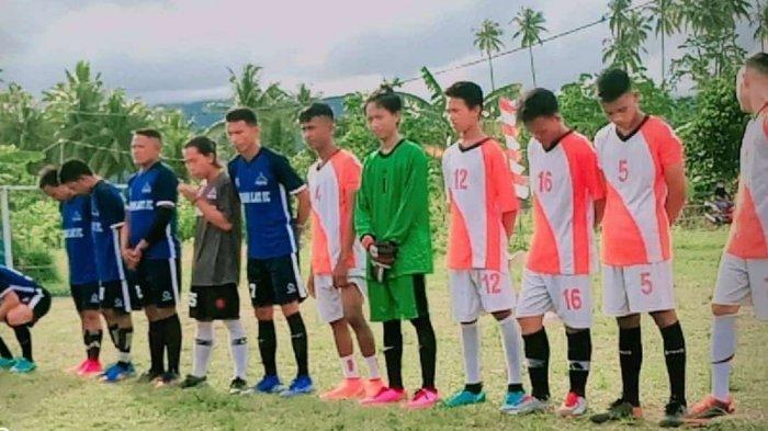 Pererat Silahturahmi, Karang Taruna Desa Sondana Kabupaten Bolsel Gelar Turnamen Futsal
