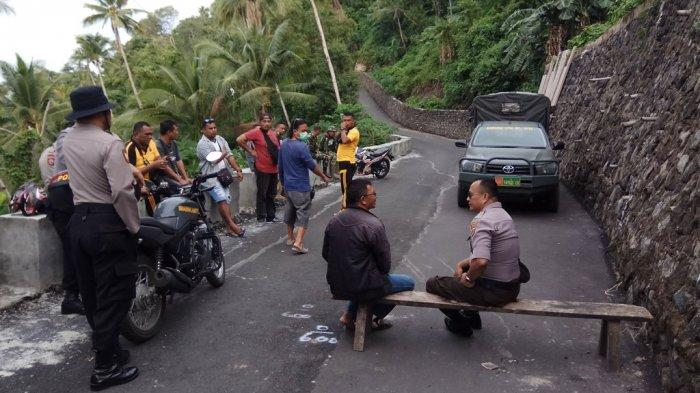 Karangetang Berbahaya, Polsek Sibar dan Koramil 02 Siau Larang Warga ke Kampung Batubulan