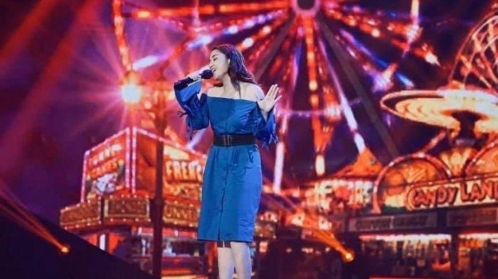 Karen Claudia Rantung saat tampil di Indonesian Idol.