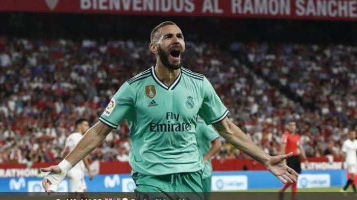 Sevilla vs Real Madrid - Gol Karim Benzema Bawa Los Blancos Menang Tipis, Skor Akhir 0-1