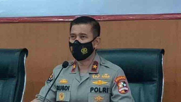 TRIBUNNEWS.COM/DANANG TRIATMOJO Karo Penmas Divisi Humas Polri Brigjen Pol Rusdi Hartono di Rumah Sakit Polri, Kramat Jati, Jakarta Timur, Jumat (15/1/2021