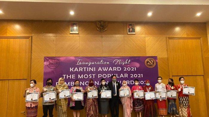 Dua Tokoh Wanita Bolmong Raih Penghargaan Kartini Awards 2021 dari IHRDP
