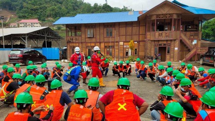 Implementasi K3 Jadi Prioritas PT PP Bendungan Lolak Lindungi Pekerja