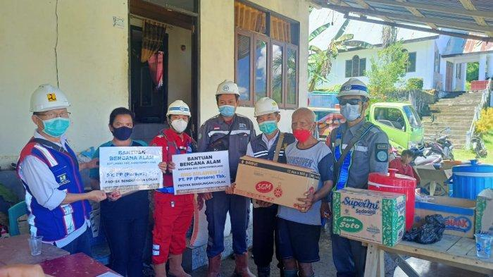Bupati Bolmong Apresiasi Bantuan PT PP ke Desa Batu Merah