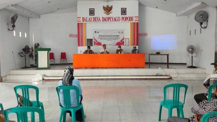 Polres Bolsel Cabjari Kotamobagu Gelar Penyuluhan Hukum