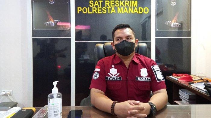 Kasat Reskrim Polresta Manado, Kompol Taufiq Arifin.