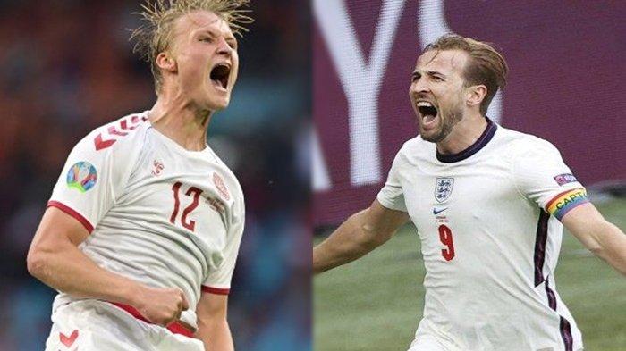 Jadwal Semifinal EURO 2020 Inggris vs Denmark Malam Ini: Peluang Dinamit Buyarkan Final Idaman