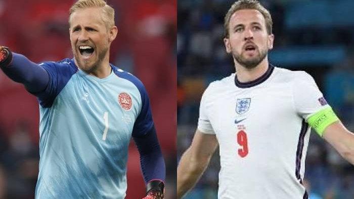 PREDIKSI Laga Inggris vs Denmark Semifinal Euro 2020, Bek Denmark Optimis Redam Kecepatan Harry Kane