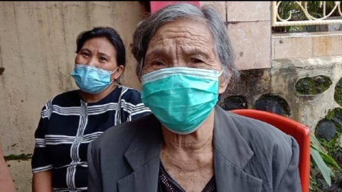 Katrina Ering Lansia 85 Tahun Asal Pinaras, Rela Jalan Kaki 1 Km untuk Ikut Vaksinasi Covid-19