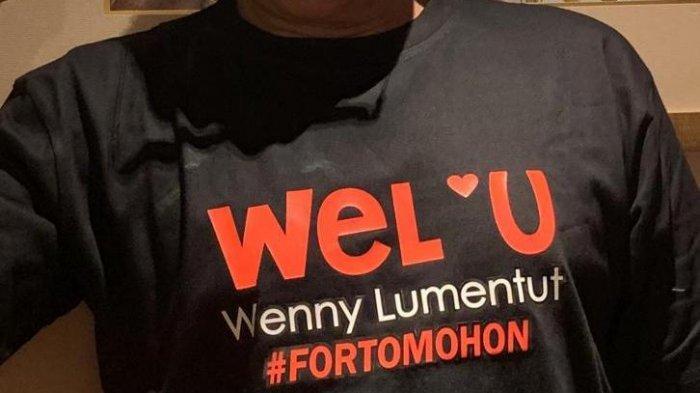Wenny Lumentut Serius Ikut Pilkada Tomohon, Sukarelawan Bantu Sosialisasi Jargon #weloveu