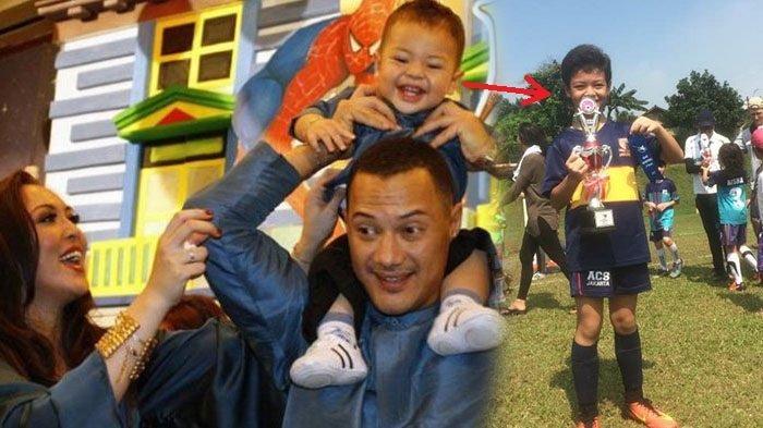 Jarang Tersorot Media, Begini Potret Keanu Massaid, Putra Angelina Sondakh & Mendiang Adjie Massaid
