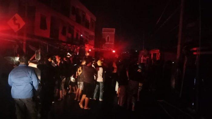 Korban Kebakaran Menangis Histeris, Tine Sudah Dapat Firasat Buruk Sebelum Kejadian