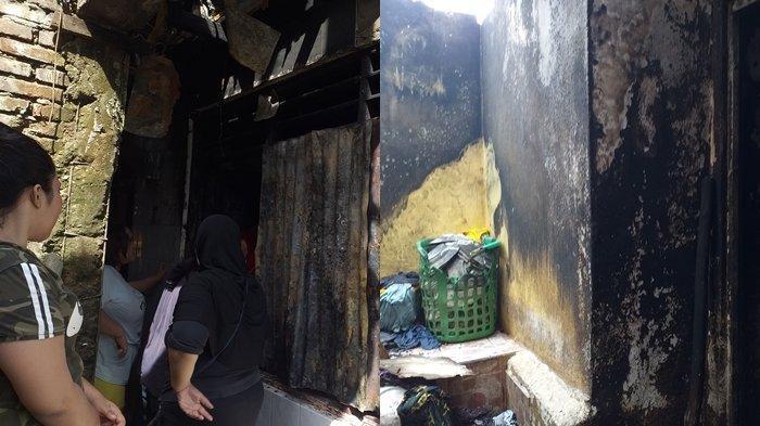 Kebakaran di Kelurahan Karame Manado Hanguskan Satu Unit Rumah