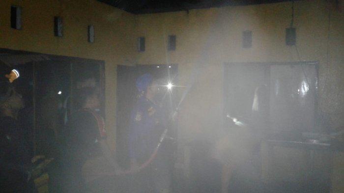 Kebakaran Tadi Malam di Kotamobagu, Dedi Sedang Tidur Bersama Istri dan 2 Anaknya