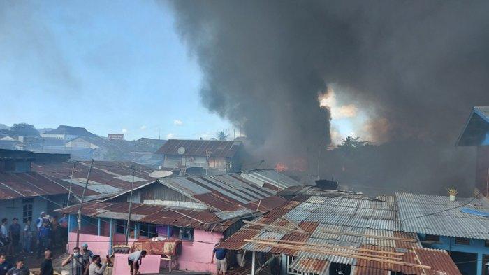 Pasar Tua Bitung Sudah Tiga Kali Terbakar, Ini Cerita Warga Setempat