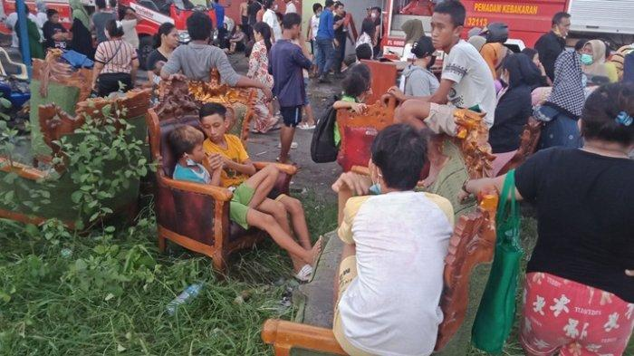 Kisah Pilu Agustina, Dua Kali Kebakaran di Pasar Tua, 'Semua Ludes, Kami Tak Tahu Tidur di Mana'