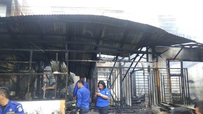 BREAKING NEWS Kebakaran Landa Rumah Berlantai 3 di Malalayang
