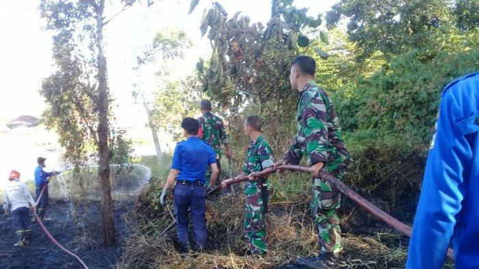 Kebakaran Terjadi di Dua Kabupaten, Ini Tindakan yang Dilakukan TNI