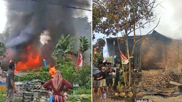 Update Info Kejadian Kebakaran di Lorong Osion Kotobangon Kotamobagu Sulut, 7 Rumah Terbakar