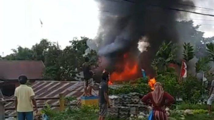 BREAKING NEWS: Kebakaran Terjadi di Kotamobagu, Warga Sebut Rumah yang Hangus Lebih dari 1