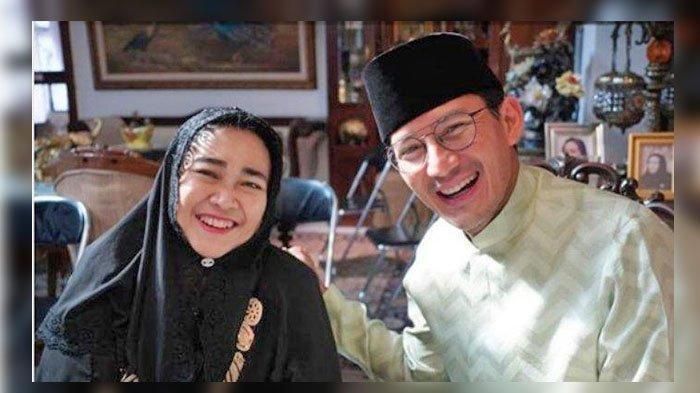 Sandiaga Uno Posting Foto Bareng Rachmawati Soekarnoputri, Putri Dari Ir Soekarno, Mereka Tersenyum