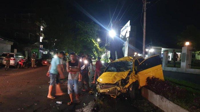 Kecelakaan Depan Kodam Anggota DPRD Manado jadi korban