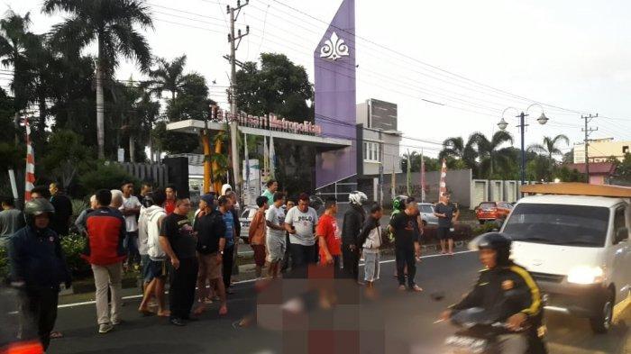 IDENTITAS Lengkap Korban Laka Lantas di Jalan AA Maramis, Diduga Tinggal di Tamansari