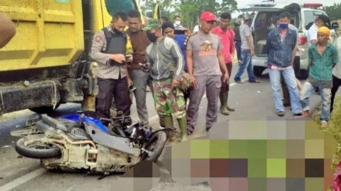 Innalillah Wainnailaihi Rajiun, Drs A Samad Wahid Meninggal, PNS yang Tewas Kecelakaan Tabrak Truk