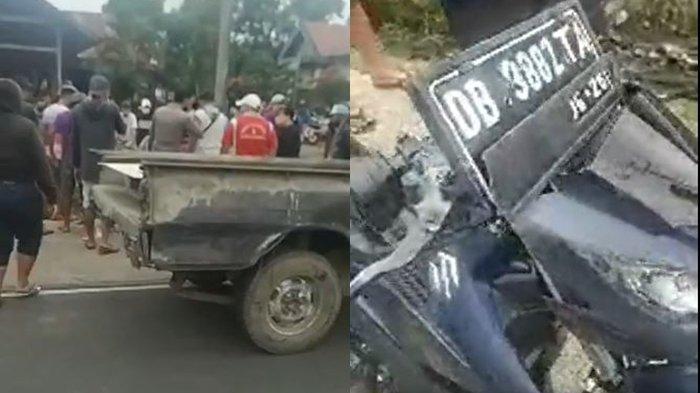 Kecelakaan Maut di Kakas Barat - Minahasa, Korban Sempat Ditegur Jangan Balap Liar