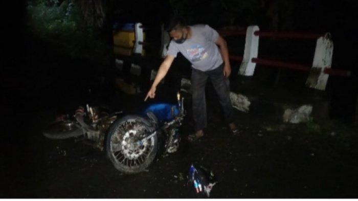 Kecelakaan Lalu Lintas di Jalan Trans Pulau Karakelang Talaud, Diduga Mabuk hingga Tabrak Jembatan