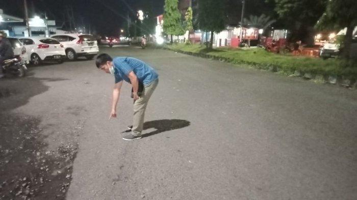 Peristiwa Kecelakaan Lalu lintas di jalan Yos Sudarso Kelurahan Bitung Tengah Kecamatan Maesa Kota Bitung Provinsi Sulut.
