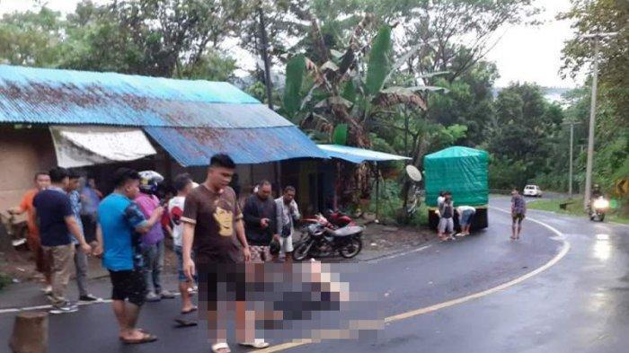 Kecelakaan Lalu Lintas di Munte, Minahasa Selatan