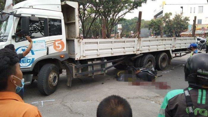 Kecelakaan Maut, M Aldie Tewas Tabrak Truk Tronton, Menyalip dengan Kecepatan Tinggi, Motor Hancur
