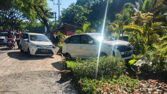 Kecelakaan lalu lintas terjadi di Jalan ringroad, Kota Manado Provinsi Sulawesi Utara pada Selasa (27/04/2021) pukul 08.00 Wita.