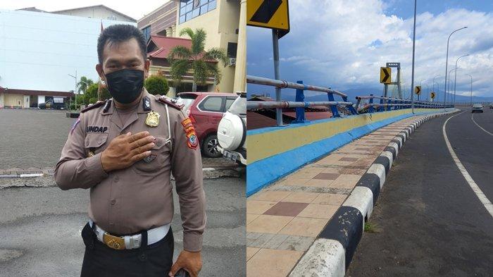 Laka Lantas di Jembatan Soekarno Masih Ditelusuri Tim dari Polresta Manado