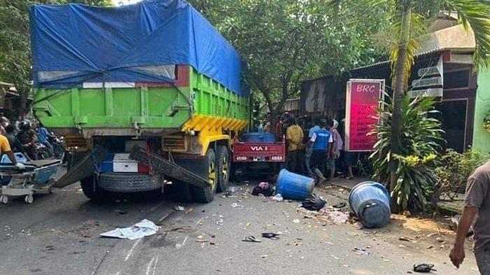 Kecelakaan Maut Jumat (26/3/21), Truk Tabrak Kendaraan Panti Asuhan, Satu Orang Tewas di Tempat