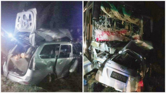 Kecelakaan Tadi Malam Pukul 21.30 WIB, 9 Orang Tewas Setelah Bus Intra dan Avanza Bertabrakan
