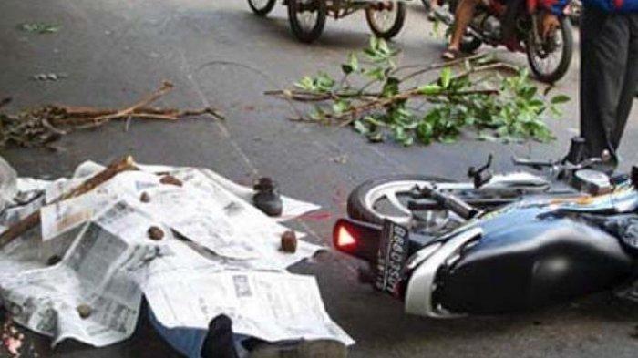 Kecelakaan Maut Pukul 06.30 WIB, 3 Orang Tewas, Terpental dari Sepeda Motor Lewati Jalan Berlubang