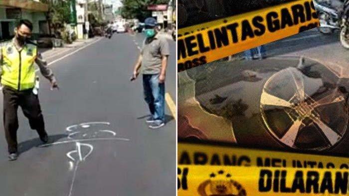 Kecelakaan, Pengendara Sepeda Motor Meregang Nyawa, Ditabrak Mini Bus Putih Saat Melawan Arah