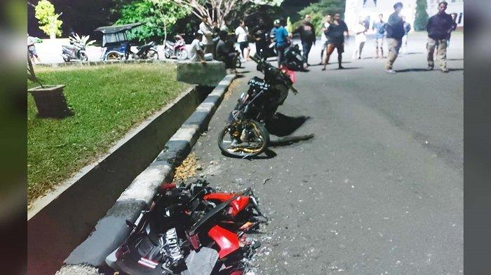 Kecelakaan Maut Pukul 01.00 Wita, Anggota TNI Tewas Ditabrak Pebalap Liar