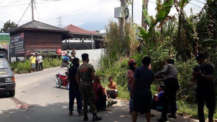 Kecelakaan Maut Tadi Pagi Pukul 10.00 WIB, Bocah Kakak Adik Tewas, Motor Korban Tabrakan dengan Truk