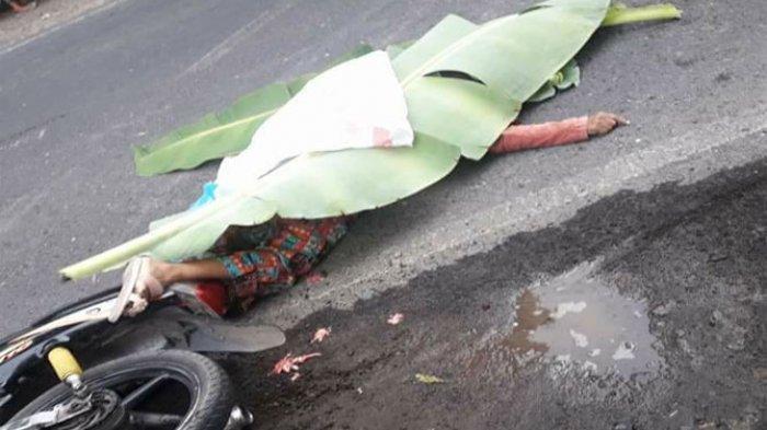 Kecelakaan Maut Senin Pagi, IRT Tewas Tabrak Truk Elpiji, Bonceng 2 Anaknya saat Hendak Temui Suami