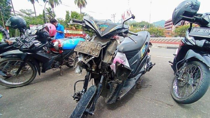 Kecelakaan maut di Jalan Poros Makale-Rantepao, Senin (14/6/2021) pagi.