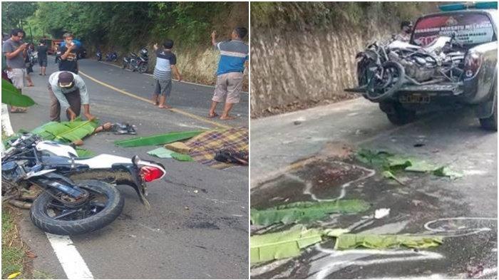 Kecelakaan Maut Tadi Pukul 15.30 WIB, 2 Orang Tewas Seketika Terlindas Truk yang Tak Kuat Menanjak