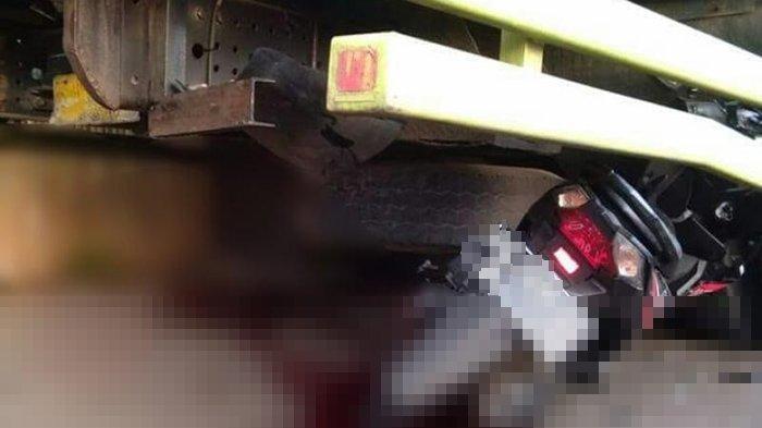 Kecelakaan Maut Pukul 15.00 WIB, Pelajar MTS Tewas, Korban Dibonceng Kakaknya Tabrak Belakang Truk