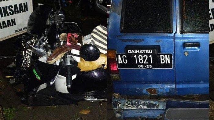 Kecelakaan Maut Tadi Malam Pukul 20.00 WIB, Pemotor Tewas, Tabrak Mobil Mogok Parkir di Tengah Jalan